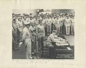 Japanese Surrender (photo) - background